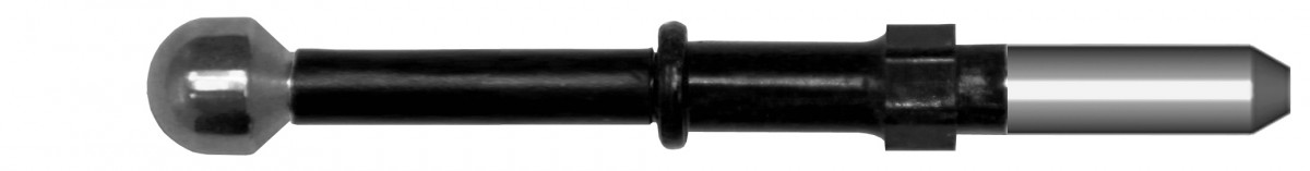 Электрод-шарик прямой, короткий, диаметр шарика (4 ± 0,4) мм, под евро-крепление диаметра 2,4 мм